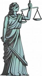 Minerva Dea della Giustizia